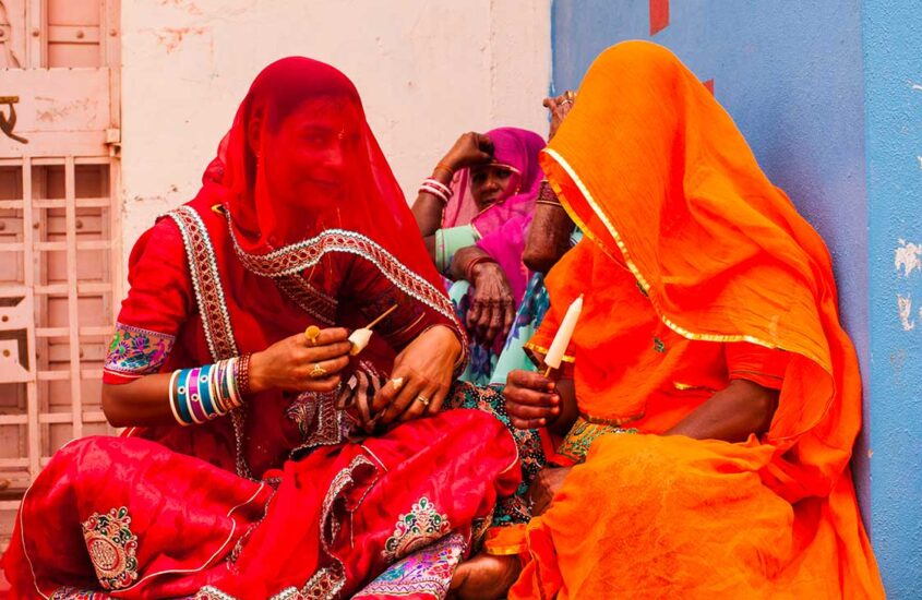 INDIA, PRIMA ZI ÎN NEW DELHI